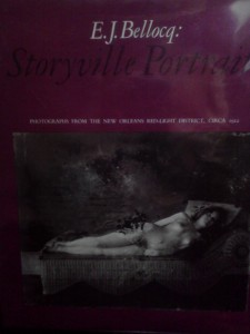 E. J. Bellocq : Storyville Portraits - Book of Photographs by Bellocq printed in 1972