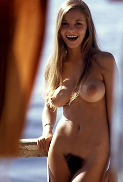 Playboy magazine's Playmate of the Month for the June 1974.  Dare to go bare?  Hell no!
