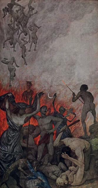Painting: The Hell - Hans Thomas